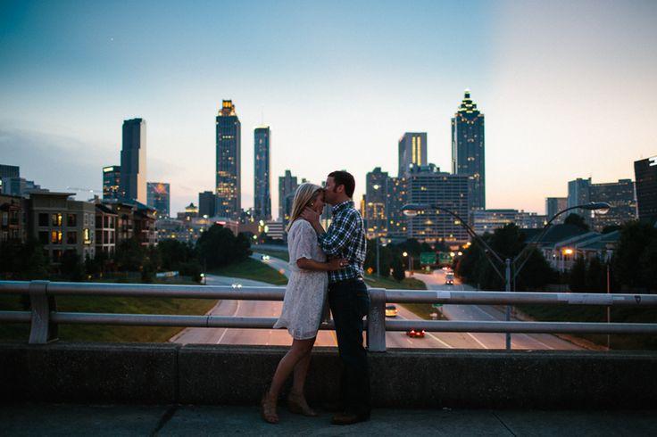 Jackson St. Bridge | Atlanta Engagement Session | Someplace Wild Photography | www.someplacewild.com