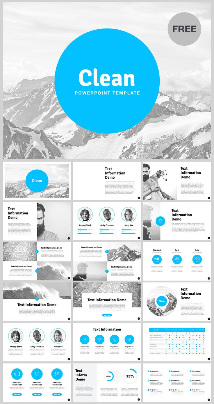 Best FREE PowerPoint Template Images On Pinterest Free Stencils - Awesome free pitch deck template scheme