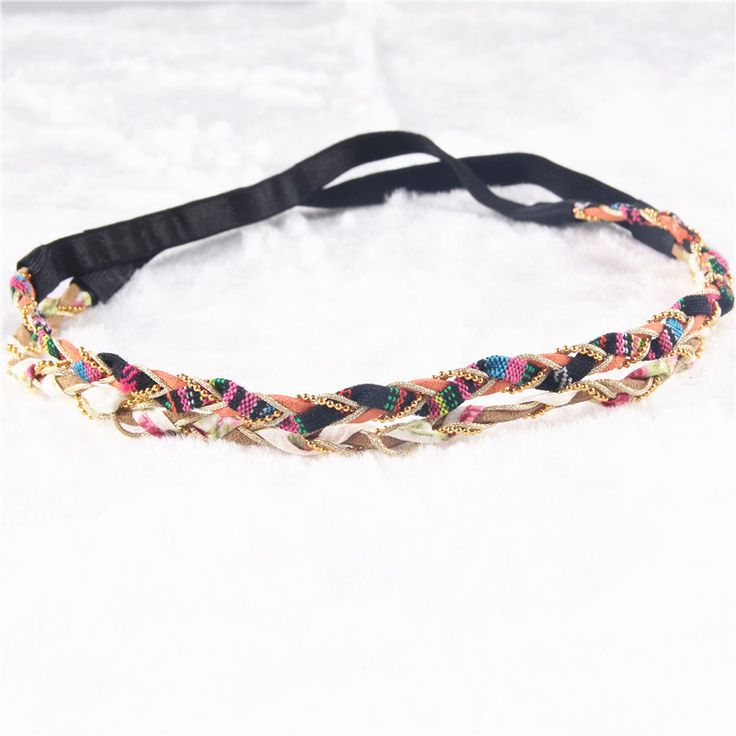2 Colors Braided Fabric Headband Fashion Beads Plait Summer Beach Headbands Women Head Jewelry PY027-in Hair Accessories from Women's Clothing & Accessories on Aliexpress.com | Alibaba Group