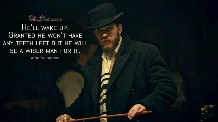 Peaky Blinders Quotes Wallpaper Alfie Solomons Peaky Blinders Quotes Peaky Blinders Tv