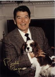Reagan & Rex (This picture will explode from intense greatness in 3...2...1...)