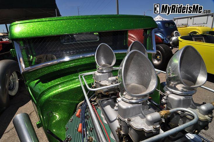 "Ever been to Viva Las Vegas? Here's the ""Best 7 Engines"" from Viva14: http://www.myrideisme.com/Blog/best-of-viva-car-show-hot-rod-engines/"
