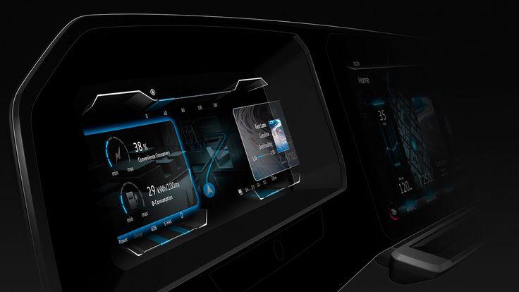 VW digital cockpit concept has a 3D instrument cluster_CES 2017