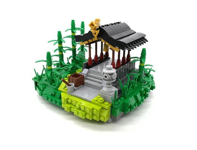 Temple Up The Hill Lego Ninjago City Lego Projects Lego Lovers