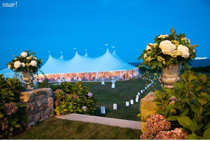 Seaside Tent Wedding Dream Pinterest Tents And