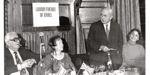 Centenary of Harold Wilson's birth: 'His support was never in doubt' - Harold Wilson addresses a Labour Friends of Israel meeting