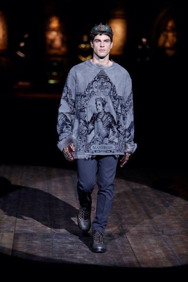 Borse Dolce Gabbana Inverno 2014 : Dolce gabbana autunno inverno milano moda