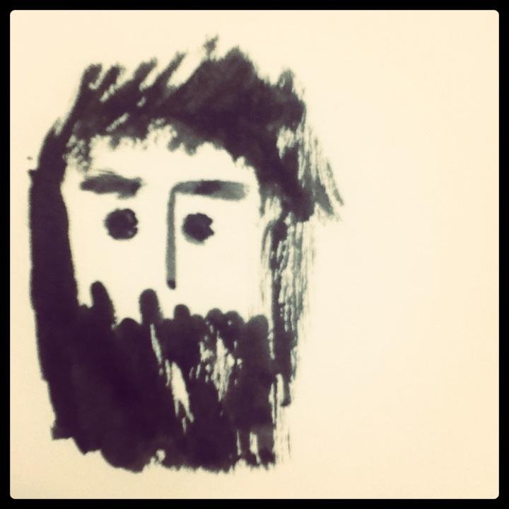 Student guide. #illustration #beard