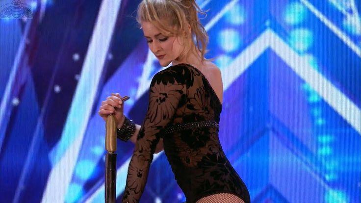 America's Got Talent 2017 Maria Popazov Strength & Elegance Full Auditio...