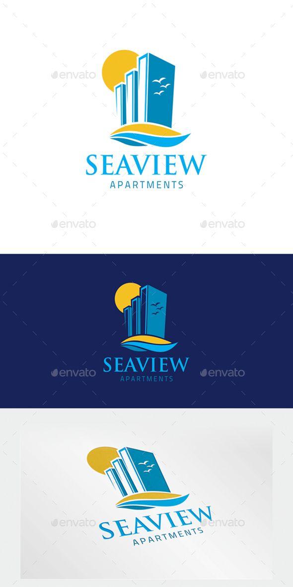Apartment #Logo - Letters Logo #Templates Download here:  https://graphicriver.net/item/apartment-logo/20065374?ref=alena994