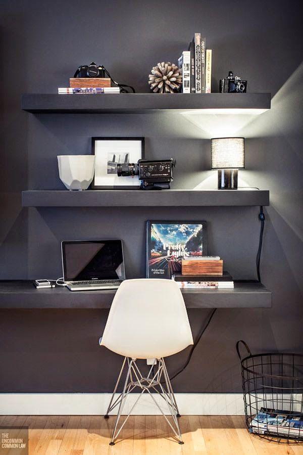 Decore Sua Mente, Seu Corpo E Seu Espaço: Idéias Para Home Office Na Sala