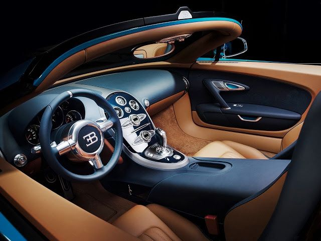 Bugatti Veyron Meo Costantini - Legendes de Bugatti interior with luxury details