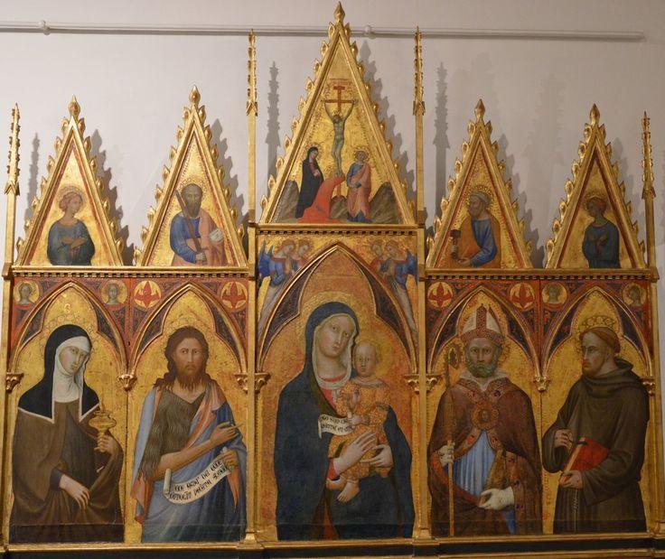 Siena Jacopo di Mino del Pellicciaio (my photo)