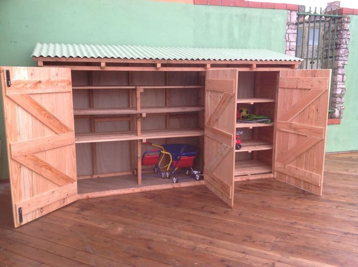 Playground Storage Shed 2 | The Green Den