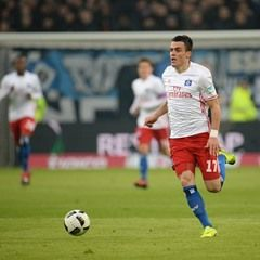 Bundesliga soccer match - Hamburger SV vs Werder Bremen