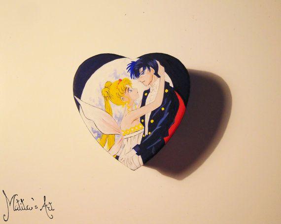Sailor Moon heart box