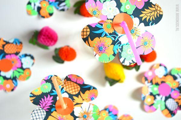 Zelf bloemen rietjes maken in een paar minuten | Moodkids