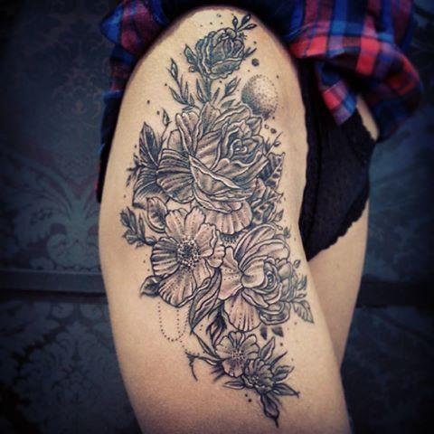 #klaudiatatuaz#klaudiatatuaż#fillinktattoo#fillinktattoolublin#tatuaz#tattoo#roses#flowers#rose#roza#kwiaty#vintagerose#vintage#lublin#lbn#tatuaznaudzie