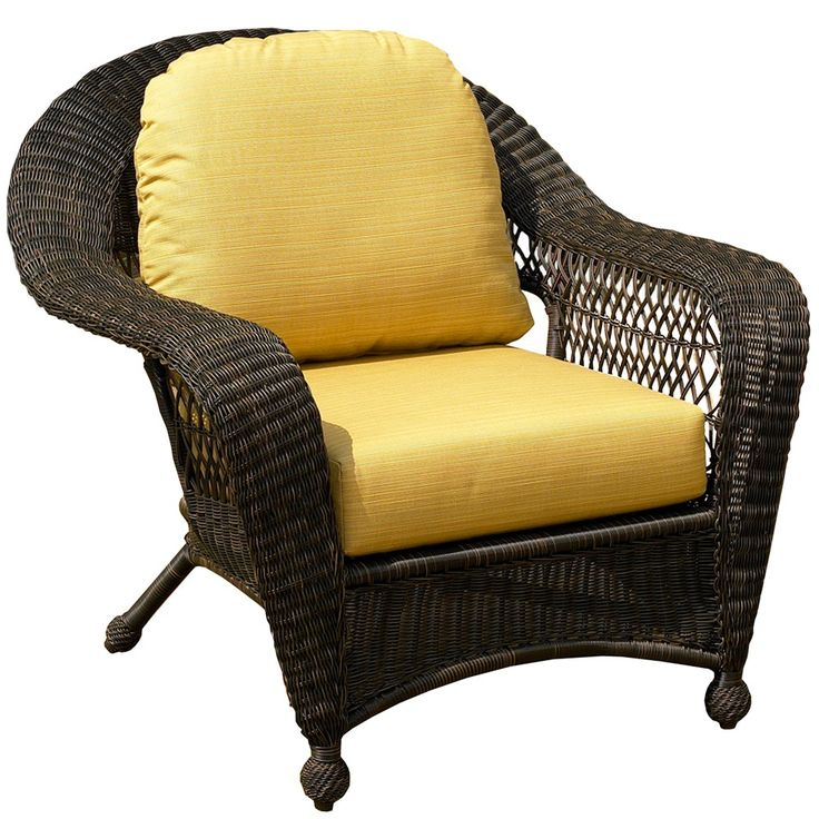 Designed For Relaxation, The NorthCape Port Royal Wicker Furniture Chair Is  Ready For Your Porch And Patio.