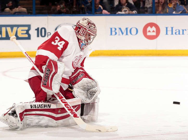 Image result for Petr Mrazek detroit red wings