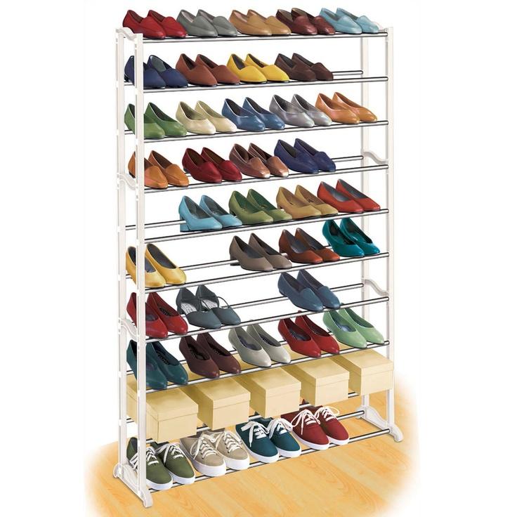 (76) Fab.com   Shoe Rack 50 Pair