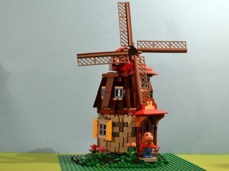 MocOlympics round 1 - Waldemar Walrus' Windmill: A LEGO® creation by Jens Ådne Rydland