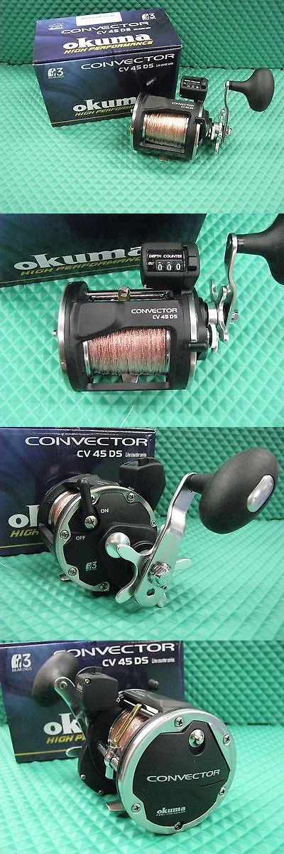 Other Fishing Reels 166159: Okuma Convector Cv 45Ds Hs Line Counter Trolling Reel Spooled With 300 Ft Copper -> BUY IT NOW ONLY: $104.95 on eBay!