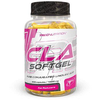 CLA SOFTGEL: Sprzężony kwas linolowy w kapsułkach   Skuteczne modelowanie sylwetki Spala tłuszcz zachowując jędrność ciała Doskonale wchłanialne żelowe kapsułki