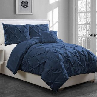 Furniture & Home Decor Search: navy blue comforter | Wayfair