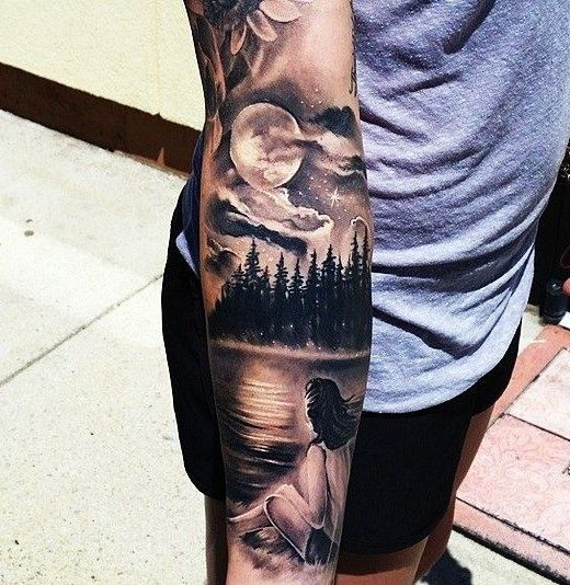 Moon-Tattoo-Designs-520x534.jpg (520×534)