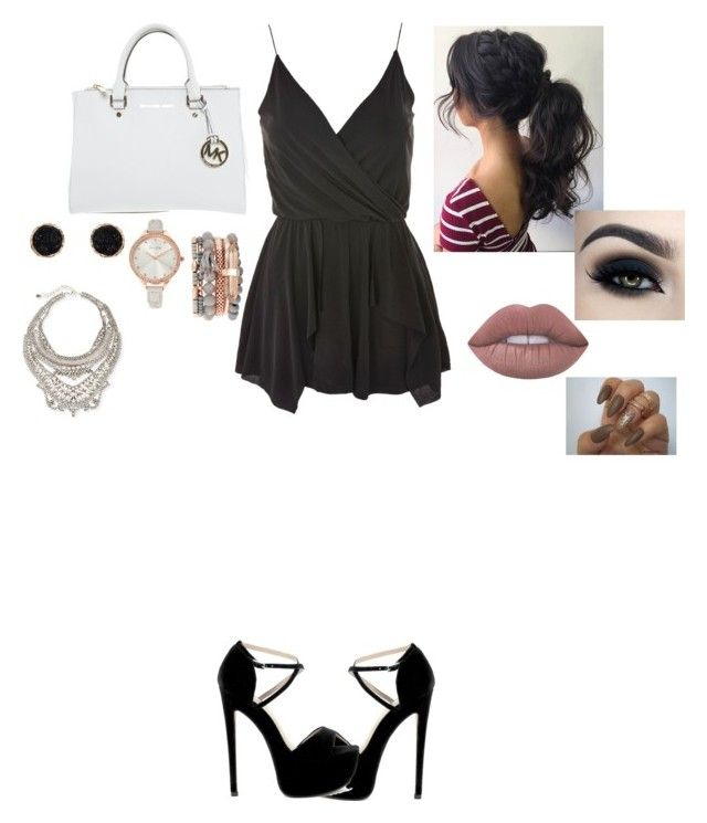 """""""Mads from The Lying Game"""" by hijabh04 on Polyvore featuring Topshop, Michael Kors, Jessica Carlyle, Humble Chic, DYLANLEX, Too Faced Cosmetics and Lime Crime"""