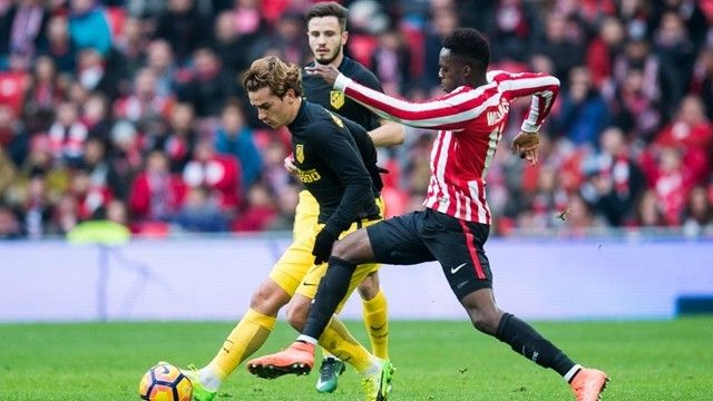 Atletico Madrid rescued a 2-2 draw away to Athletic Bilbao thanks to a brilliant strike from Antoine Griezmann. The France  Source