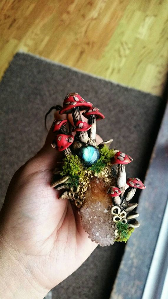 Enchanted Mushroom Portal by Spiritualmother on Etsy