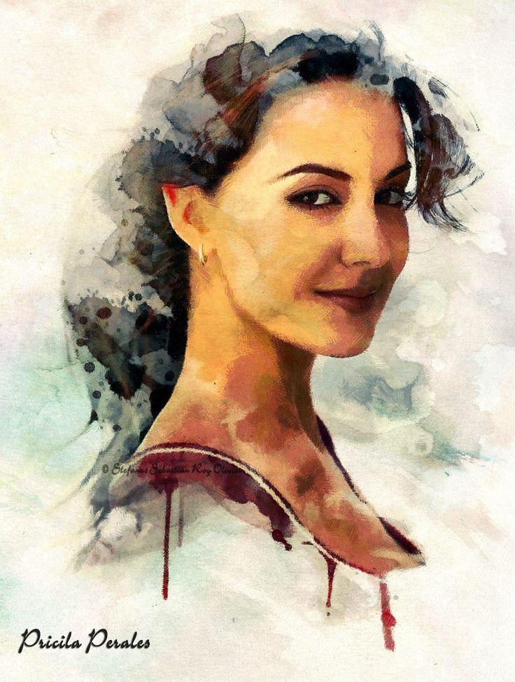 .....  Pricilia Perales   Digital Art   Painting   ....