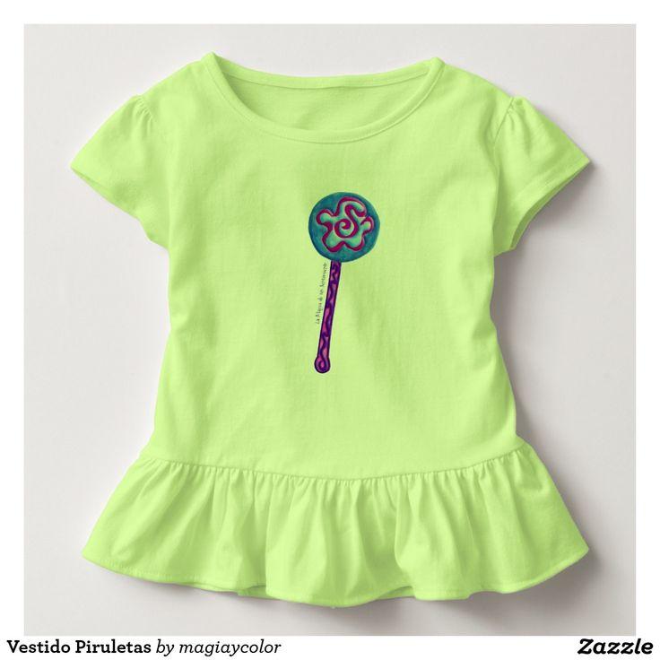 Lollipop sweet dress Won't be adorable? - Bonito vestido Piruletas. ¿No estaría adorable?