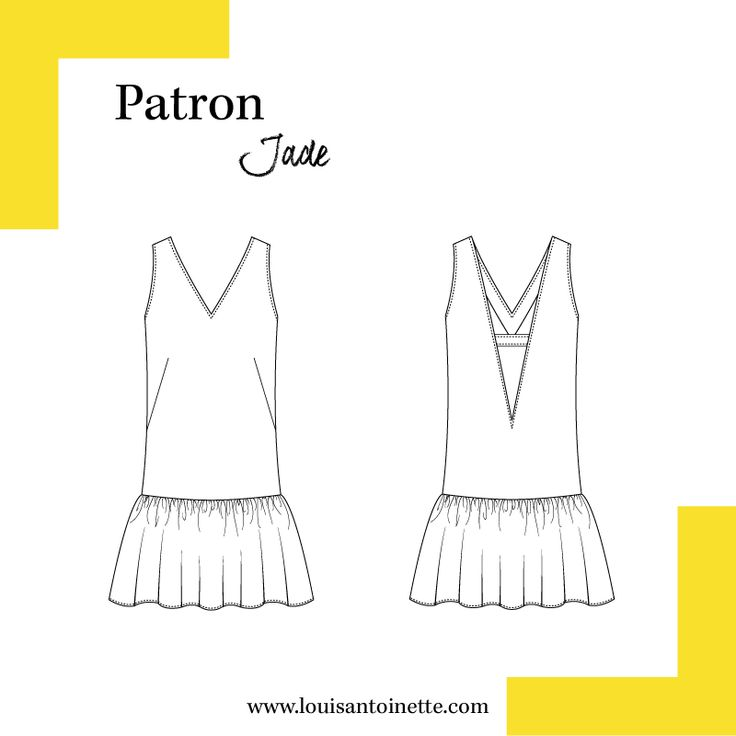 Robe Jade | Mode Femme | Patron | Tuto | DIY