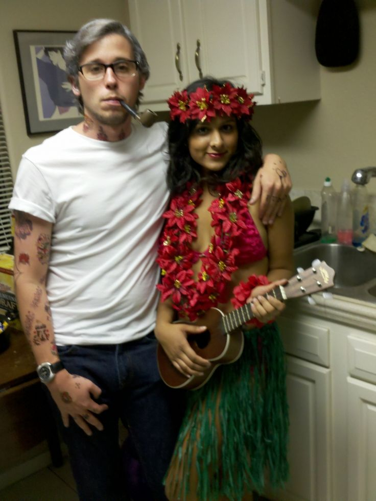 Sailor Jerry and the Sailor Jerry Hula Girl
