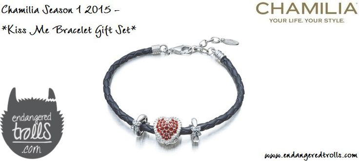 Chamilia Kiss Me Bracelet Gift Set (limited edition)