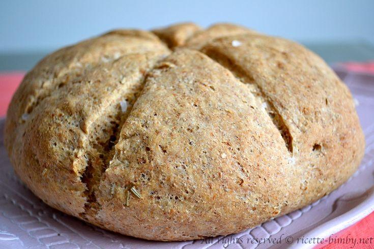 Pane integrale al rosmarino Bimby • Ricette Bimby