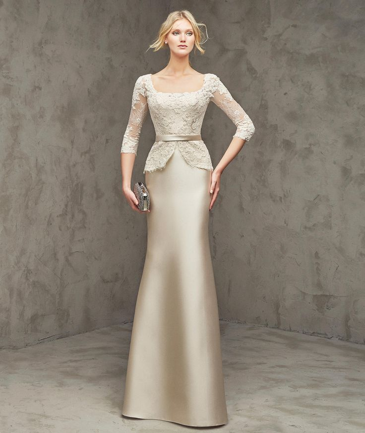 Square+Neck+Floor+Length+Gold+Satin+Trumpet+Mermaid+Mother+Of+The+Bride+Dress+B2pr0003