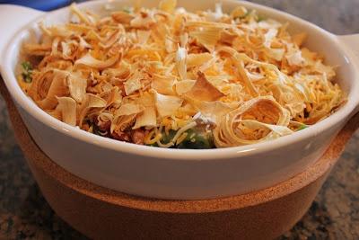 Never trust a skinny cook....: Green bean casserole