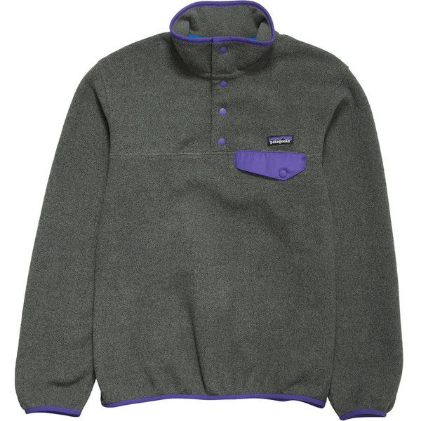 Patagonia Synchilla Lightweight Snap-T Fleece Pullover ($69) ❤ liked on Polyvore featuring jackets and patagonia