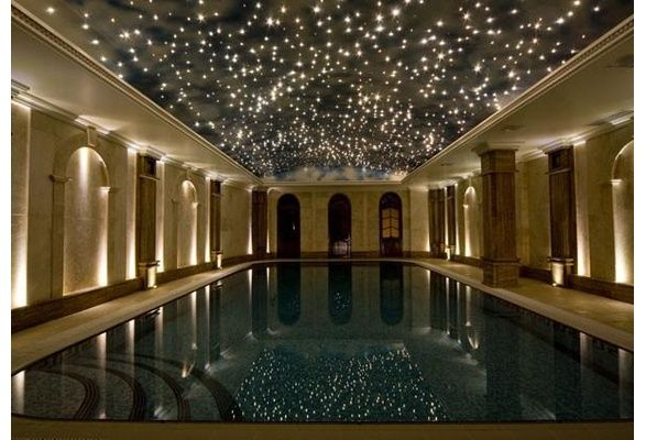 Ceiling Lights That Look Like Stars : Large fibre optic lights star lighting ceiling kit