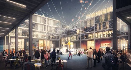 Foster + Partners é selecionado para projetar a segunda fase do Dubai Design District,© Foster + Partners