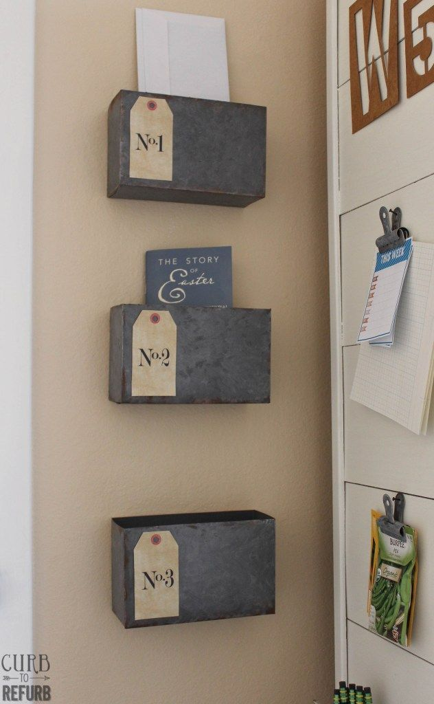 Easy Storage Projects With Up Cycled Cardboard Bo