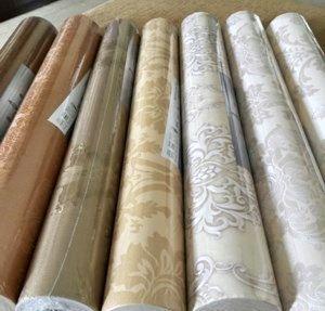 Daftar harga wallpaper dinding per roll, per meter, 3D, dapur, kamar tidur, ruang tamu, murah, hello kitty, di solo, semarang, surabaya, malang.