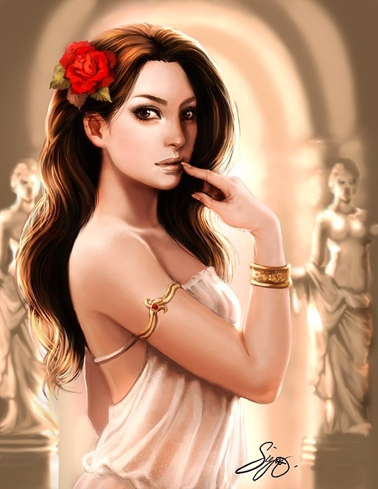 Aphrodite goddess of Love...hope to be as seductive in dance as she in love