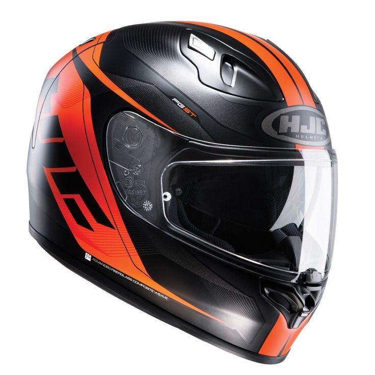 HJC FG-ST Crono Orange Motorcycle Helmet ***£199.99 NOW £149.99*** | eBay