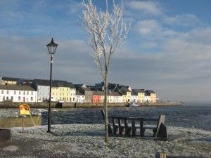Galway in the west of Ireland, home.