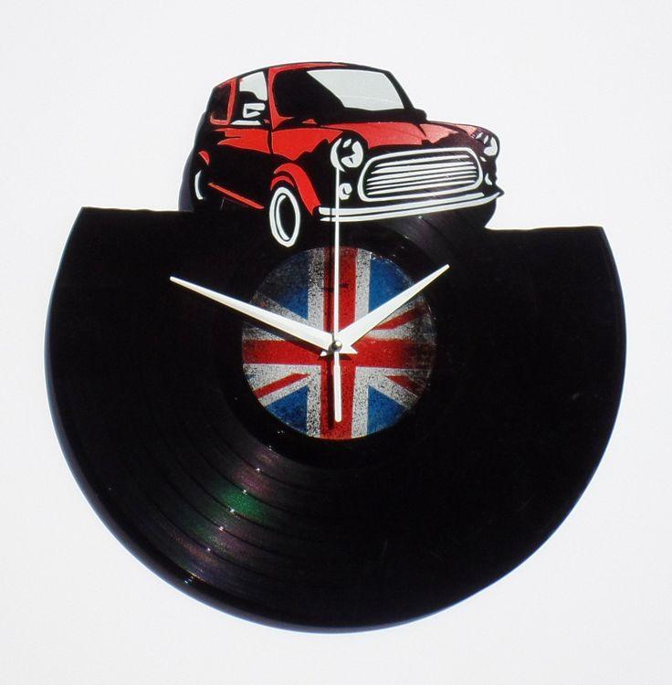 http://www.jamjar.gr/product/18087/mini-cooper-vinyl-clock